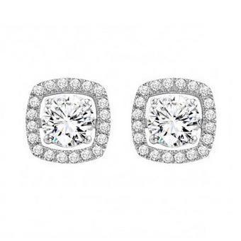 14 Karat White Gold Earring Jackets Charisma Jewelers